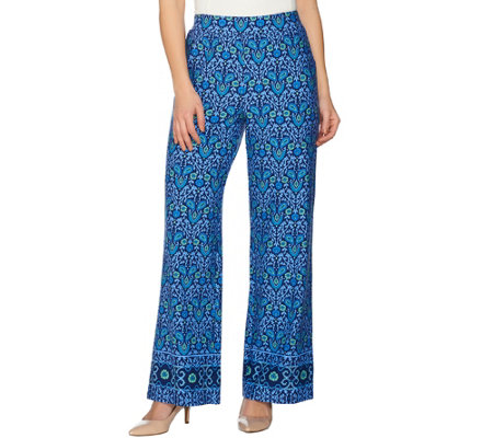 C. Wonder Petite Engineered Floral Tile Print Pants