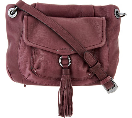"""As Is"" Aimee Kestenberg Double Pocket Crossbody-Monet"