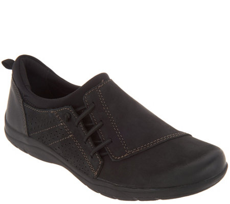 Earth Origins Stitch Detailed Slip-On Shoes - Teressa