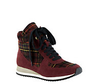 Bella Vita Lace-up High Top Sneakers - Enice - A337531