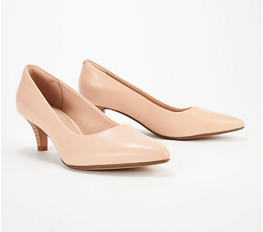 Clarks Collection Leather Pumps - Linvale Jerica