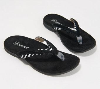 Spenco Orthotic Thong Sandals - Flamingo - A377631