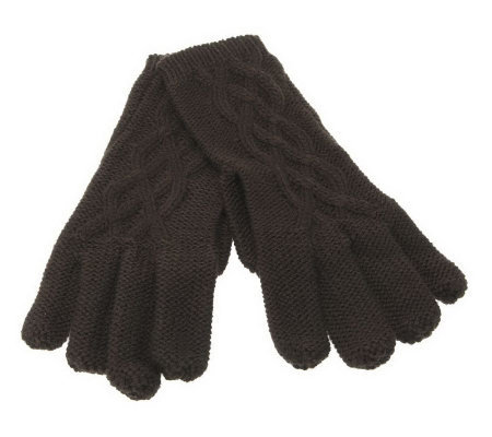 Ruyi Cable Knit Gloves