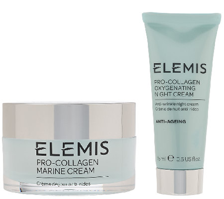 ELEMIS Pro-Collagen Marine Cream w/ Travel Size Night Cream
