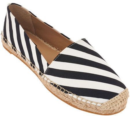 """As Is"" G.I.L.I. Canvas Espadrilles - Sandie"