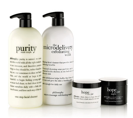 philosophy super-size 4 pc am/pm skincare collection
