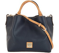 Dooney Bourke Smooth Leather Small Brenna Satchel Handbag A309632