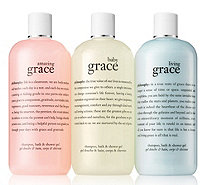 philosophy state of grace shower gel trio Auto-Delivery - A311432