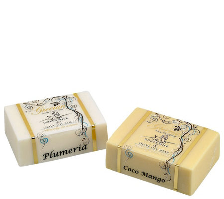 The Grecian Soap Company Goat's Milk Soap Bars