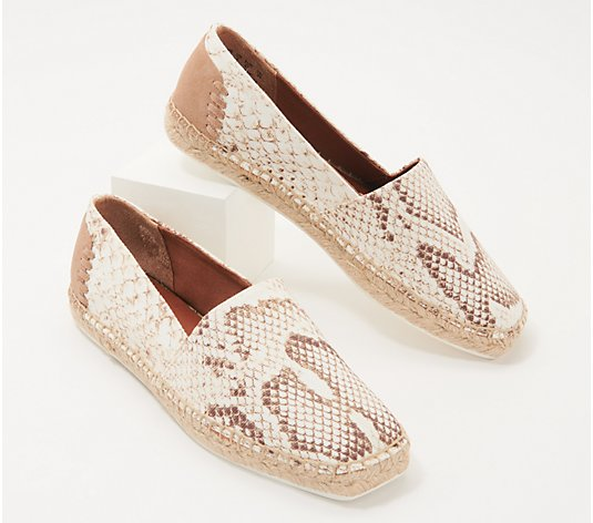 """As Is"" Franco Sarto Slip-On Espadrilles - Kenna"