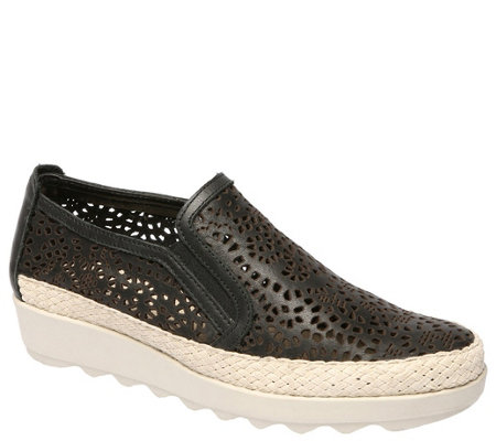 The Flexx Slip-On Platform Espadrilles - Call Me