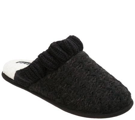 Nine West Mule Knit Scuffs