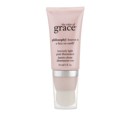 philosophy color of grace heavenly light pinkilluminator 1 oz.