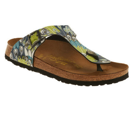 7192ad291d9 Papillio by Birkenstock Gizeh Feather Print Thong Sandals. Papillio by Birkenstock  Gizeh Feather Print Thong Sandals. product thumbnail. In Stock