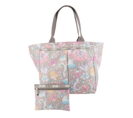 Lesportsac Printed Nylon Every Tote With Pouch