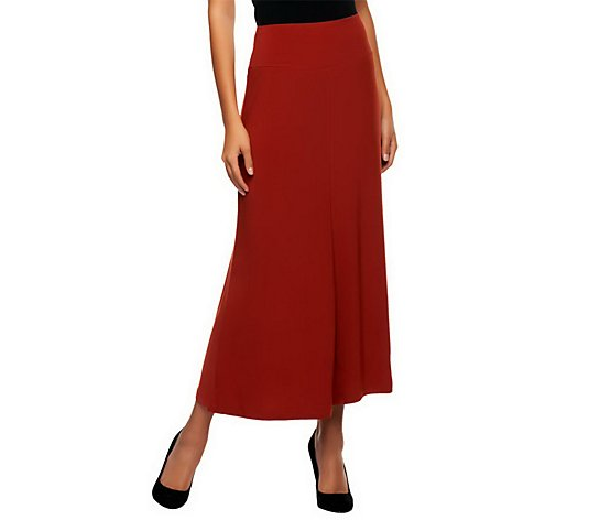 Women with Control Tummy Control Ankle Skirt w/ Seam Detail
