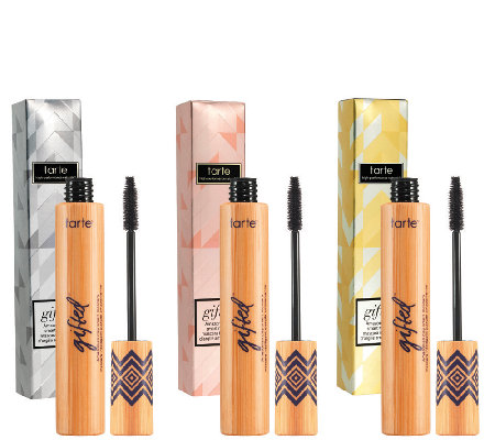 1d399b62516 tarte Gifted Amazonian Clay Smart Mascara Trio - Page 1 — QVC.com