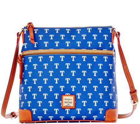 Dooney & Bourke MLB Rangers Crossbody