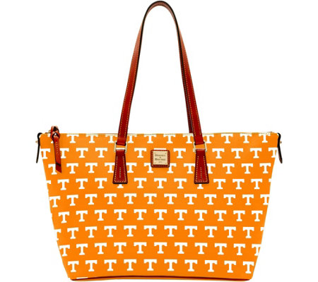 Dooney & Bourke NCAA University of Tennessee Zip Top Shopper