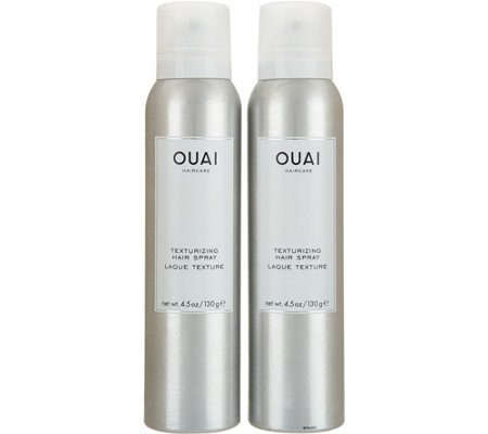 OUAI Texturizing Hairspray Duo