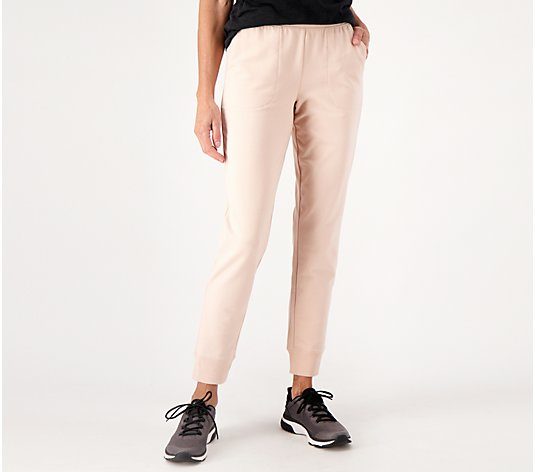 Denim & Co. Active Regular Pull-On Knit Jogger Pants