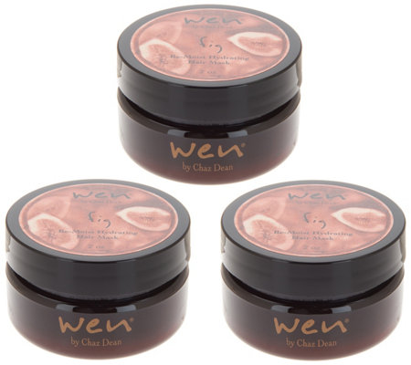 WEN by Chaz Dean Re-Moist Mask Trio
