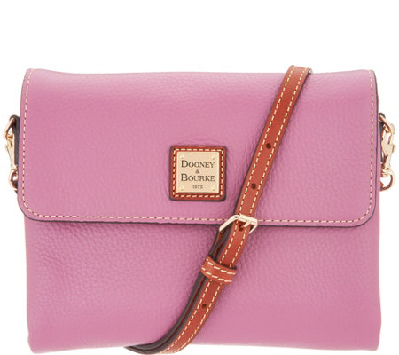 Dooney & Bourke Pebble Leather Crossbody Handbag - Hunter