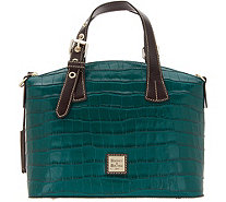 Dooney & Bourke Croco Embossed Leather Trina Satchel - A343033