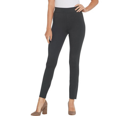 As Is Spanx Ponte Ankle Length Leggings Regular