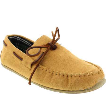 Deer Stags Men's Slipperooz Indoor/Outdoor Slippers - Fudd