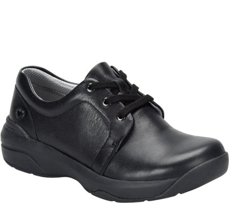 Nurse Mates Leather Lace Up Shoes - Corby