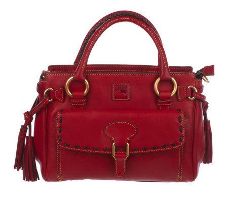 Dooney & Bourke Florentina Bolsa De Cuero Rojo kJfomDvQZ
