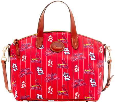 Dooney & Bourke MLB Nylon Cardinals Small Satchel
