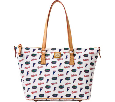 Dooney & Bourke NCAA University of Florida Zip Top Shopper