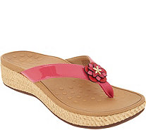 Vionic Thong Sandals with Ring Detail - Elena discount sast get to buy cheap online XsuNQTd
