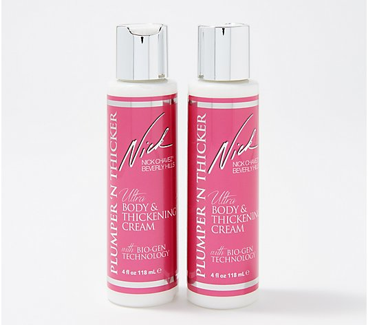 Nick Chavez Plumper 'N Thicker Body & Thickening Cream Duo