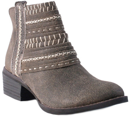 Nomad Leather Ankle Boots - Josie