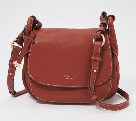 RADLEY London Leather Medium Flapover Crossbody - Harper Road