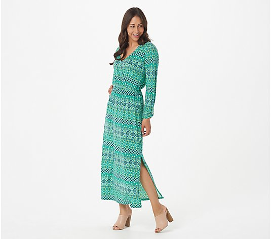 AmberNoon II by Dr. Erum Ilyas Regular SunStretch UPF 50 Maxi Dress