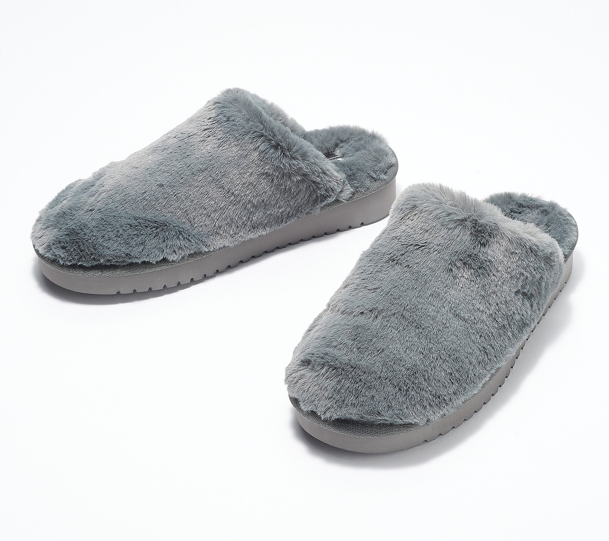 Koolaburra by UGG Faux-Fur Slip-On Slippers - Pomi