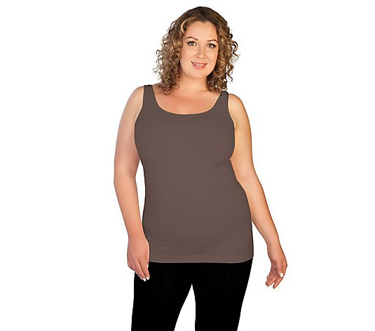 skinnytees Plus Basic Tank