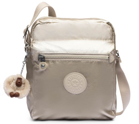 Kipling Nylon Zip Top Crossbody Handbag Livie