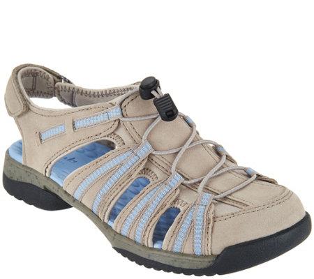 b89b0515072 Clarks Adjustable Fisherman Sandals - Tuvia Madee - Page 1 — QVC.com