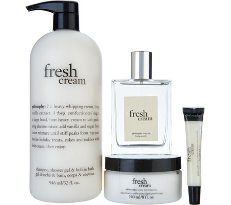philosophy fresh cream 4-piece layering set Auto-Delivery