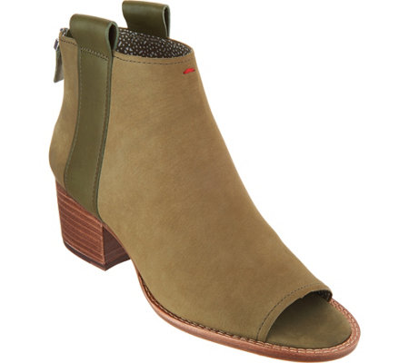 """As Is"" ED Ellen DeGeneres Leather Ankle Boots - Taromi"