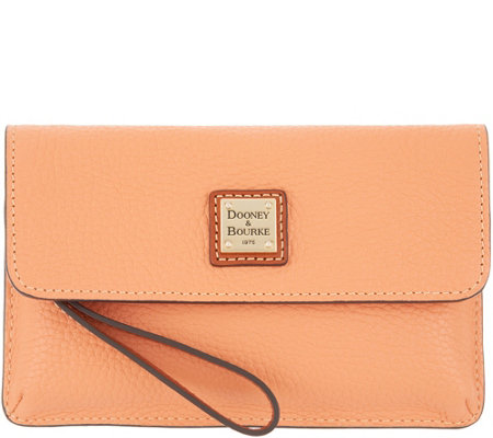 Dooney & Bourke Pebble Leather Wristlet - Milly
