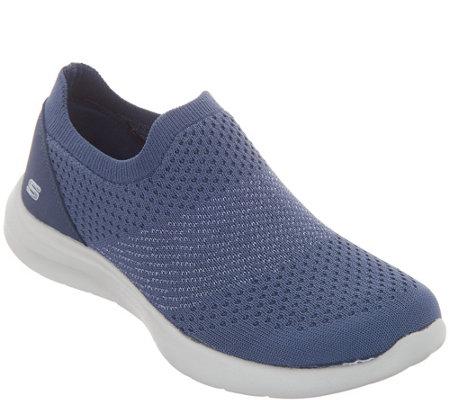 4464d4043840 Skechers Flat Knit Slip On Shoes - Premiere Class - Page 1 — QVC.com