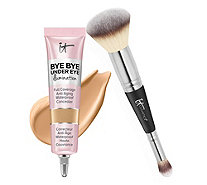IT Cosmetics Super-Size Bye Bye Under Eye Illumination w/ Luxe Brush - A311235