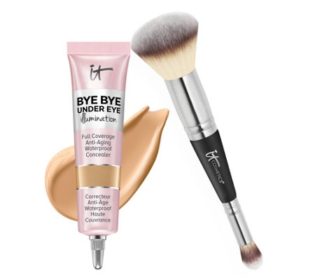 IT Cosmetics Super-Size Bye Bye Under Eye Illumination w/ Luxe Brush