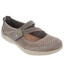 Earth Origins Perforated Slip-On Shoes - Tiffany - A311335
